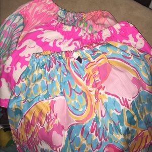 Etsy made Lilly Pulitzer fabric twirl skirt